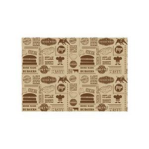 Non Food Company Presentatiepoint Vetvrij papier 'Steak House Design' 35x25cm 1000st