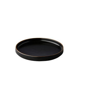Q Authentic Bord Japan zwart 20 cm