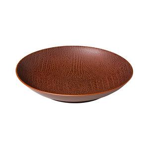 Q Authentic Coupe pastabord Croco 25,5 cm