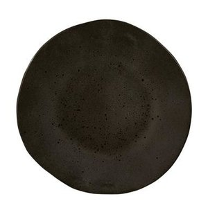Q Authentic Q Authentic Stone Black bord 28,5 cm
