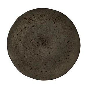 Q Authentic Q Authentic Stone Black bord 31,5 cm