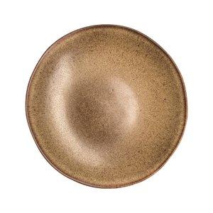 Q Authentic Q Authentic Stone Brown coupebord diep 26,5 cm