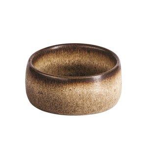 Q Authentic Q Authentic Stone Brown ramekin 4,5 cm