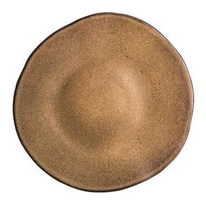 Q Authentic Q Authentic Stone Brown bord 28,5 cm