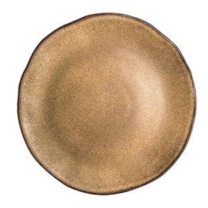 Q Authentic Q Authentic Stone Brown bord 31,5 cm