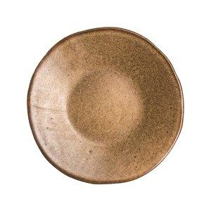 Q Authentic Q Authentic Stone Brown bord 16 cm