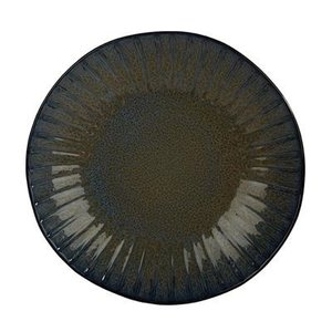 Q Authentic Q Authentic Stone Blue coupebord 26,5 cm