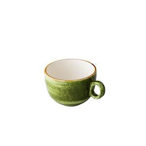 Q Authentic Jersey koffiekop stapelbaar groen 160 ml