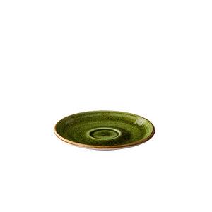 Q Authentic Jersey espressoschotel groen 13 cm