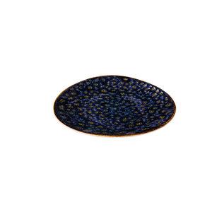 Q Authentic Jersey bord driehoek blauw 17 cm
