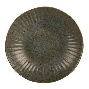 Q Authentic Q Authentic Stone Green coupebord 26,5 cm