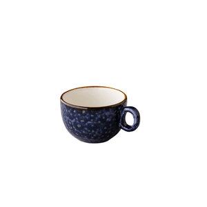 Q Authentic Jersey cappuccino kop stapelbaar blauw 200 ml