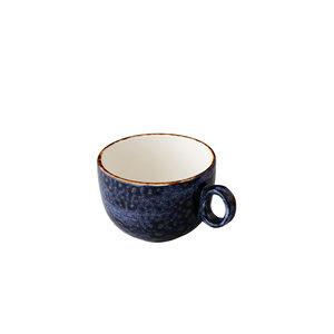 Q Authentic Jersey koffiekop stapelbaar blauw 160 ml
