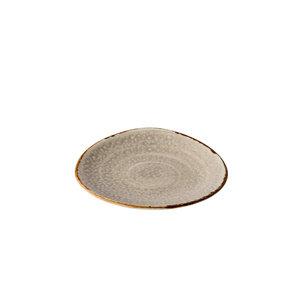 Q Authentic Jersey bord driehoek grijs 17 cm