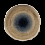Churchill Stonecast Aqueous Bayou Round Trace Plate 26,4cm