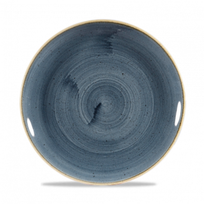 Churchill Stonecast Blueberry Evolve Coupe Plate 21,7cm