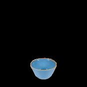 Churchill Stonecast Cornflower Blue Sauce Dish 9cl