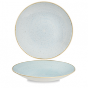 Churchill Stonecast Duck Egg Blue Deep Coupe Plate 28cm