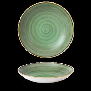 Churchill Servies Stonecast Samphire Green Coupe Pasta Bowl 30,5cm
