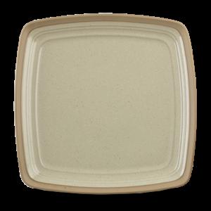 """Art de Cuisine Igneous  Square Plate 11 6/8"""" Box 6"""