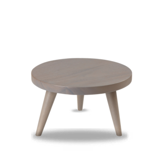 Churchill Wood Large Round Grey Stand 25x15cm
