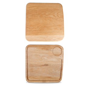 Churchill Wood  Square Board Large 3x3x2cm