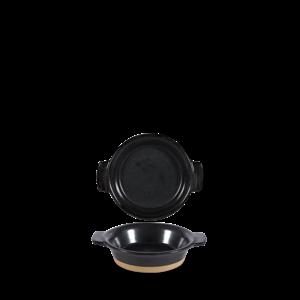 Art de Cuisine Black Igneous Individual Dish 19cl