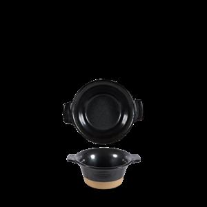 Art de Cuisine Black Igneous Small Pie Dish 14cm