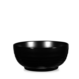 Art de Cuisine Rustics Black Sparkle Ripple Deli Bowl 70Oz Box 4