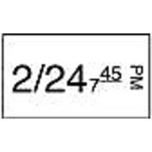 Daymark Stickerrol 1-lijnspistool vol. oplosbaar 750/rol