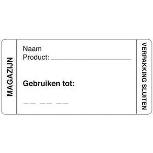 Daymark Afwasbare sticker magazijn 250/rol