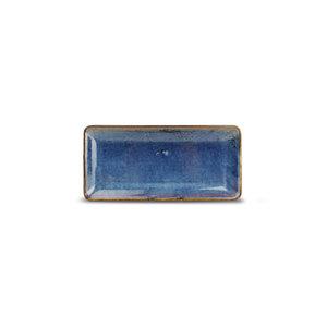 F2D F2D | Nova Plat bord 11,5x25,5cm rechthoekig blue