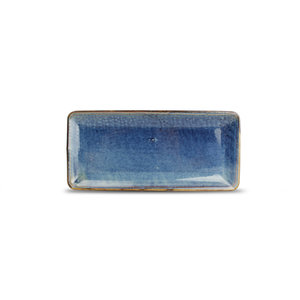 F2D F2D | Nova Plat bord 14x30,5cm rechthoekig blue