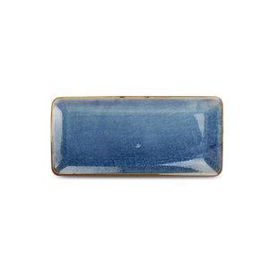 F2D F2D | Nova Plat bord 16x35,5cm rechthoekig blue