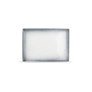 F2D F2D | Dusk Plat bord 28x20cm rechthoekig Black Speckled