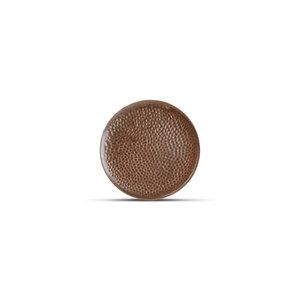 F2D F2D | Brass Plat Bord 15,5cm gehamerd Copper
