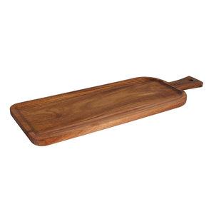 Non Food Company Acacia serveerplank handvat rechth. 50,7 x 18 cm
