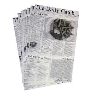 Non Food Company Presentatiepoint LUX310 Vetvrij papier 'Daily Catch' 27x42 cm 500st