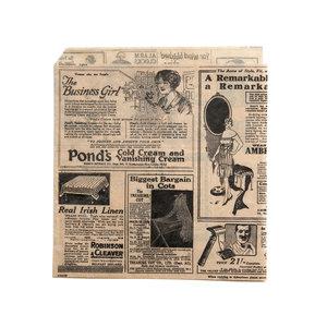 "Non Food Company Vetvrij papier zak""Newspaper Brown""18x17cm 500-pak"