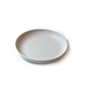 Non Food Company Melaminepoint Pebble cream organisch diep bord 21,5 cm