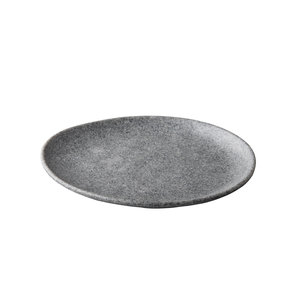 Non Food Company Melaminepoint Pebble grey organisch Bord 26,5 cm