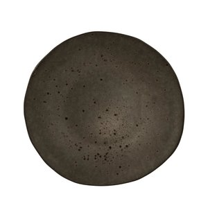 Q Authentic Q Authentic Stone Black bord 21 cm