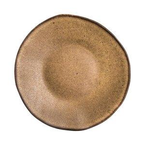 Q Authentic Q Authentic Stone Brown bord 21 cm