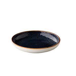 Q Authentic Jersey diep rond bord blauw 26.5 cm