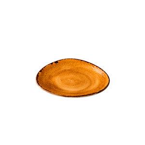Q Authentic Jersey bord driehoek Oranje 17 cm