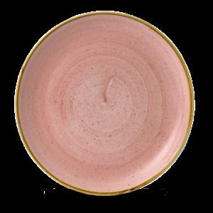 Churchill Servies Stonecast Petal Pink Evolve Coupe Plate 28,8cm