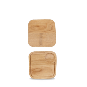 Churchill Wood  Square Board Small 2x2cm