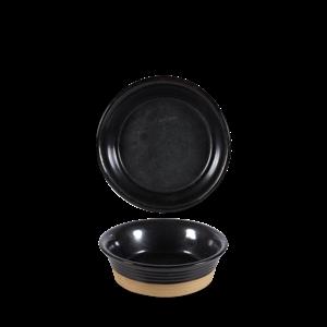 Art de Cuisine Black Igneous Large Pie Dish 55cl