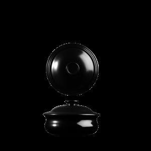 Art de Cuisine Rustics Black Sparkle Lidded Stewpot 57cl
