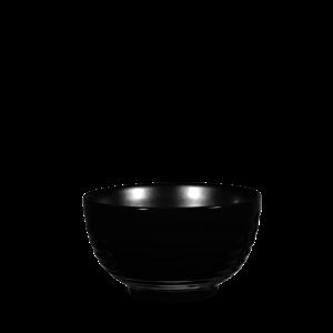 Art de Cuisine Rustics Black Sparkle Ripple Deli Bowl 16cm